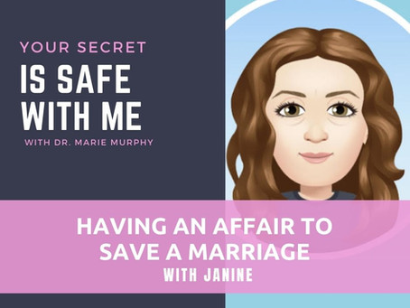 Having an Affair to Save a Marriage