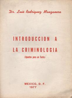 5. INTRODUCCIÓN A LA CRIMINOLOGÍA