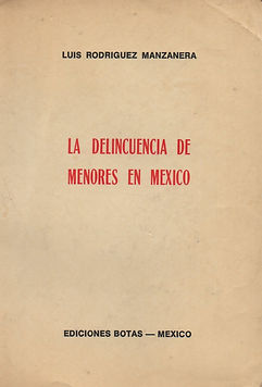 2. LA DELINCUENCIA DE MENORES EN MÉXICO