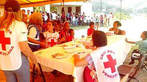 jornada de salud con la cruz roja de Venezuela
