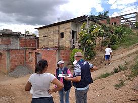 Grupo de apoyo psicosocial en sector Valle Cielo