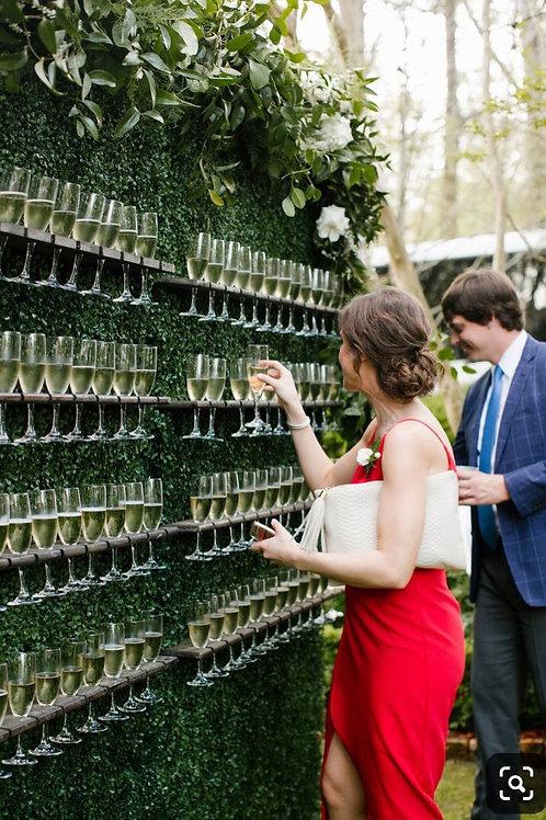 Champagne/Prosecco wall hire