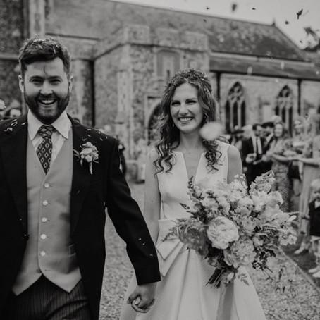 Real life wedding: Steph & Tom