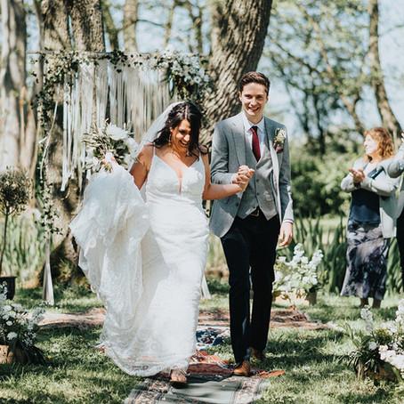 Real LIFE wedding: Meg & Steve