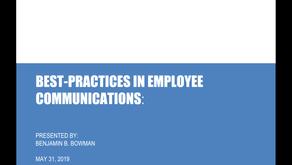 Best Internal Communications Practices