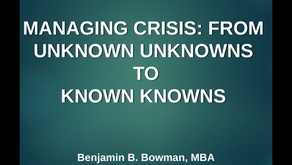 CRISIS COMMUNICATIONS: AN EVIDENCE-BASED APPROACH