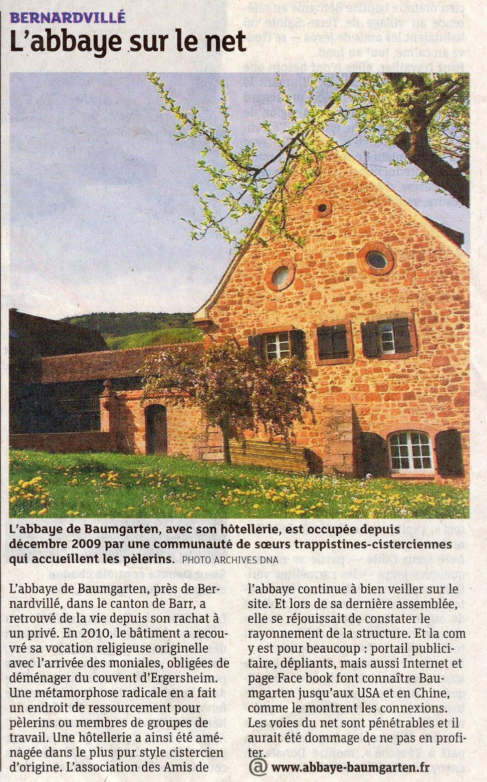 L'abbaye sur le net Bernardvillé (Copier