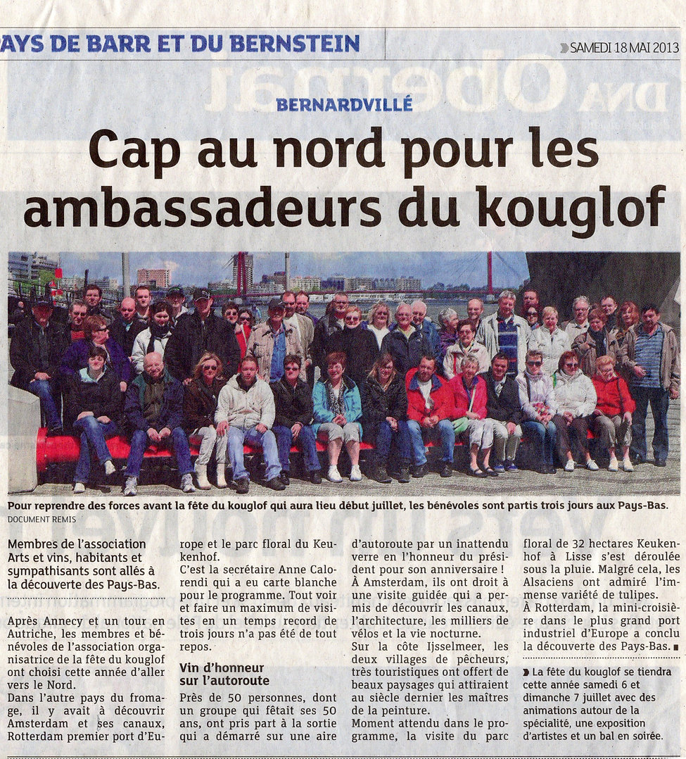 Association Kouglof 2013 Bernardvillé (C