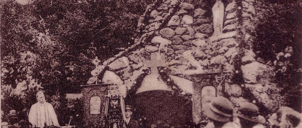 Inauguration Grotte
