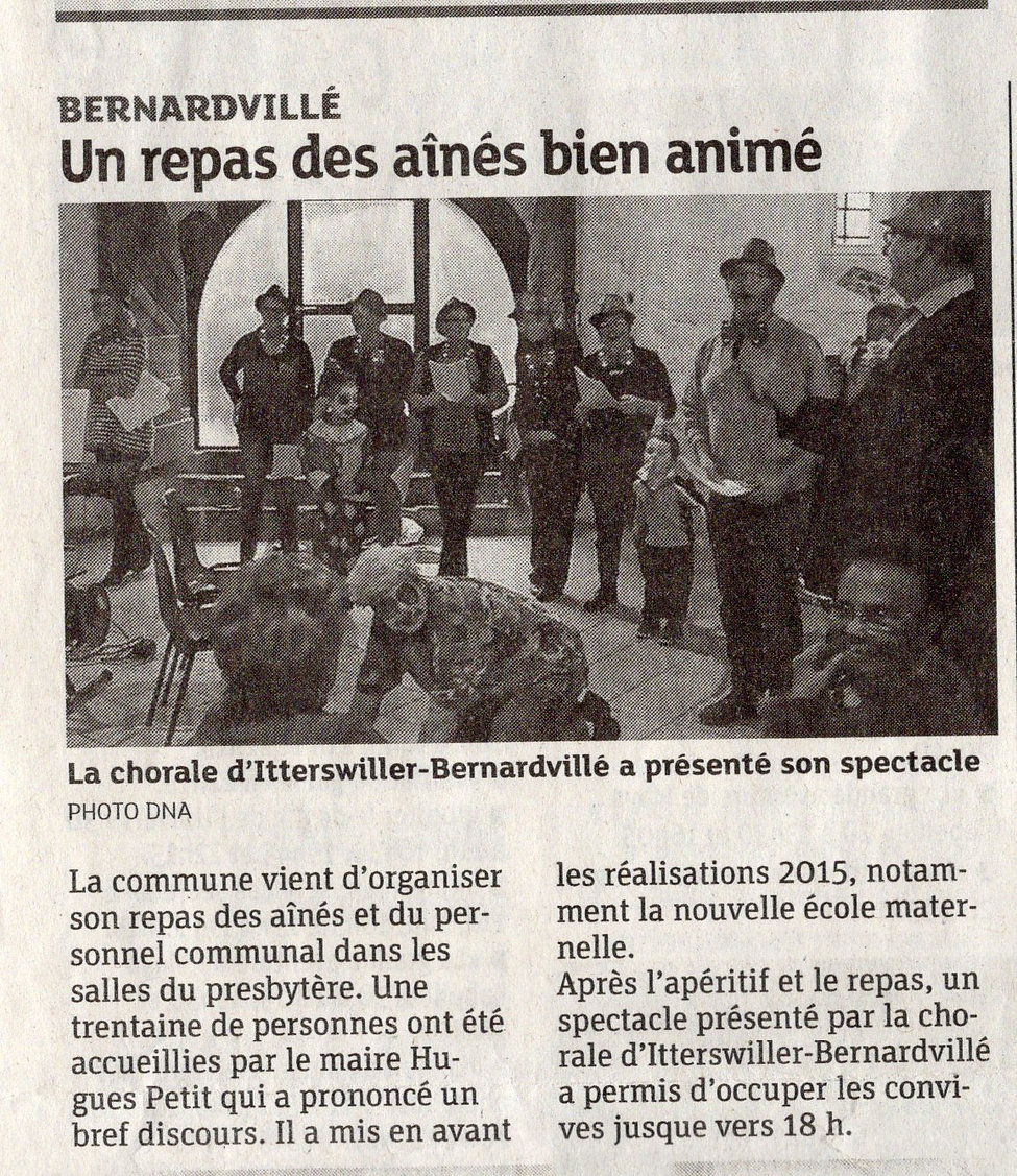 Repas des ainés 2015 Bernardvillé (Copie