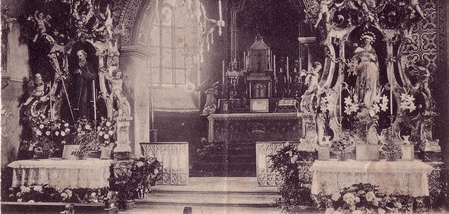 Interieur église