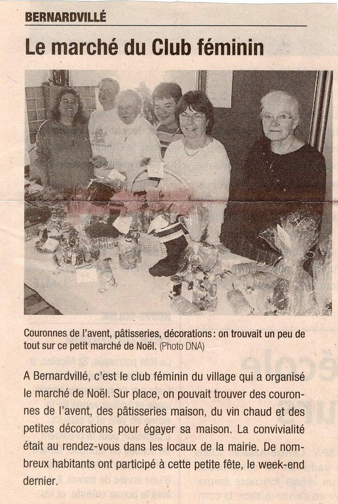 Marché de Noël 2006 Bernardvillé (Copier
