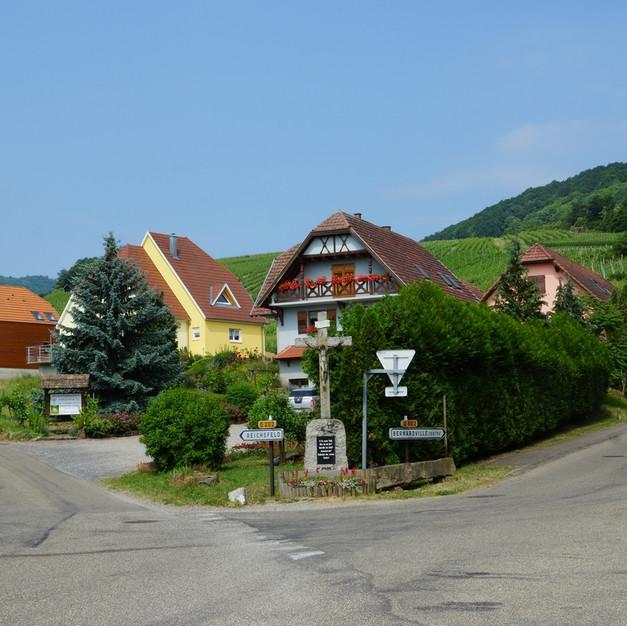 Entrée du village de Bernardvillé