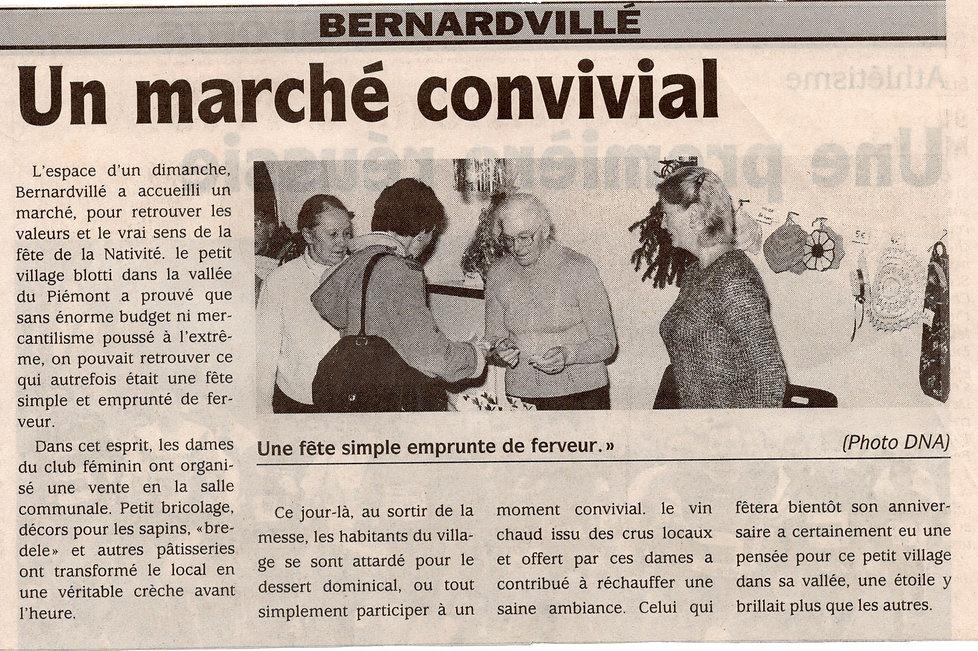 Marché de Noël 2002 Bernardvillé (Copier