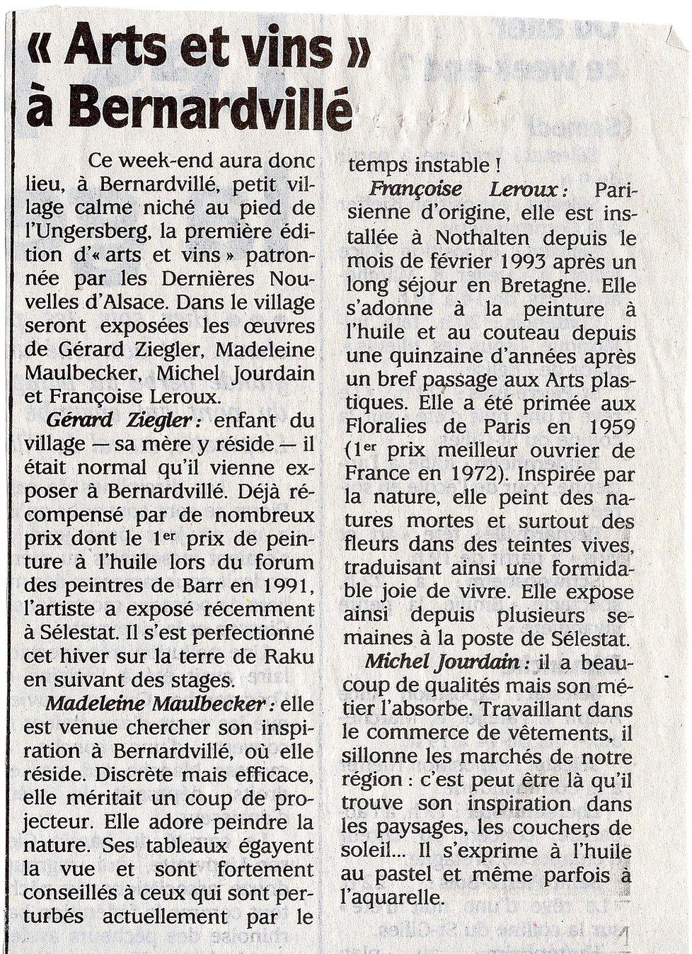 Arts et vins 24 25 juillet 1995 (Copier)