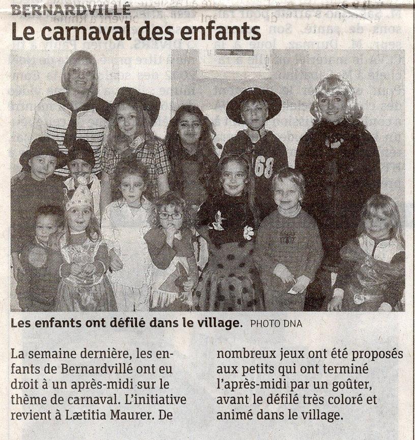 Carnaval des enfants 2007 Bernardvillé47