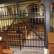 Interieur chapelle de Baumbarten Bernardvillé