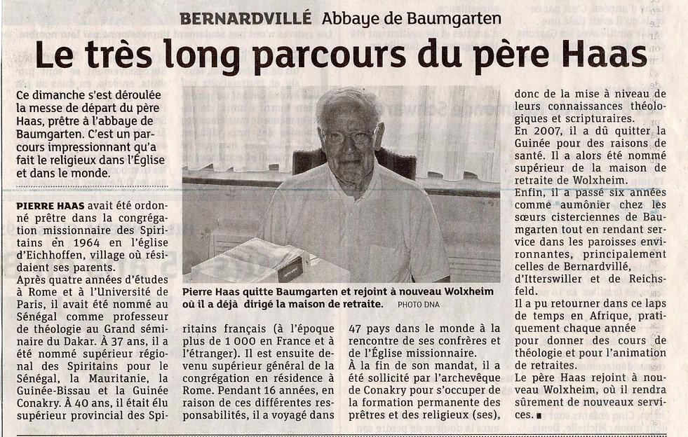 Père Haas Baumgarten Bernardvillé (Copie