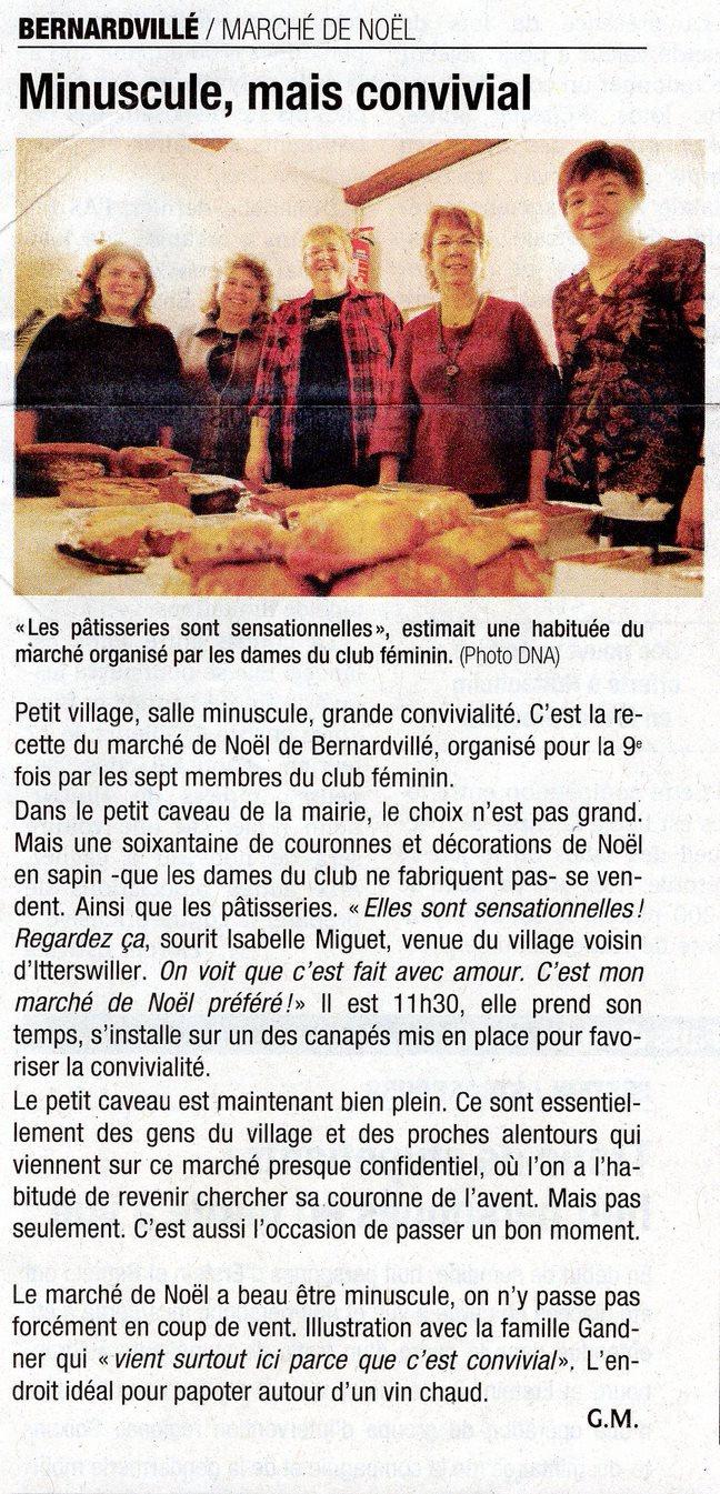 Marché de Noël  club féminin215 (Copier)