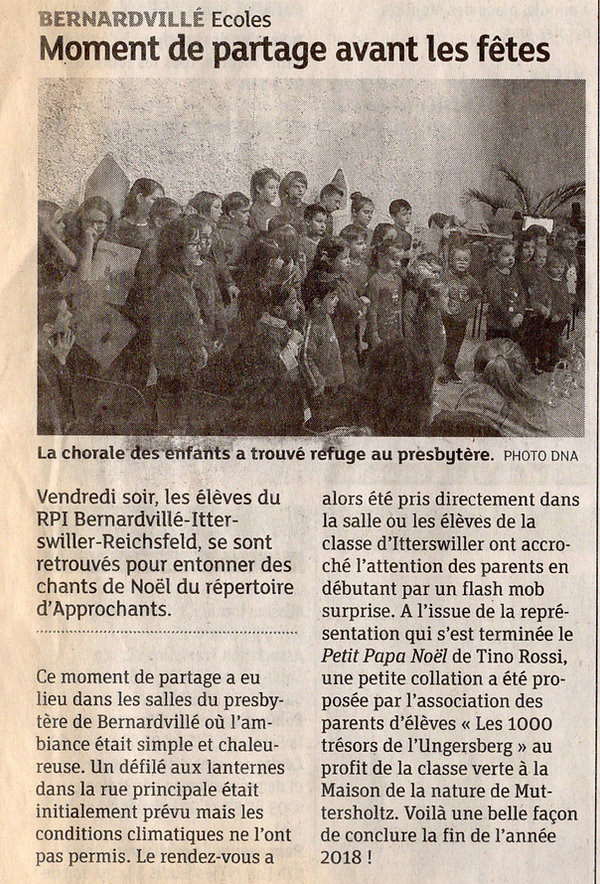 Chorale des jeunes Bernardvillé (Copier)