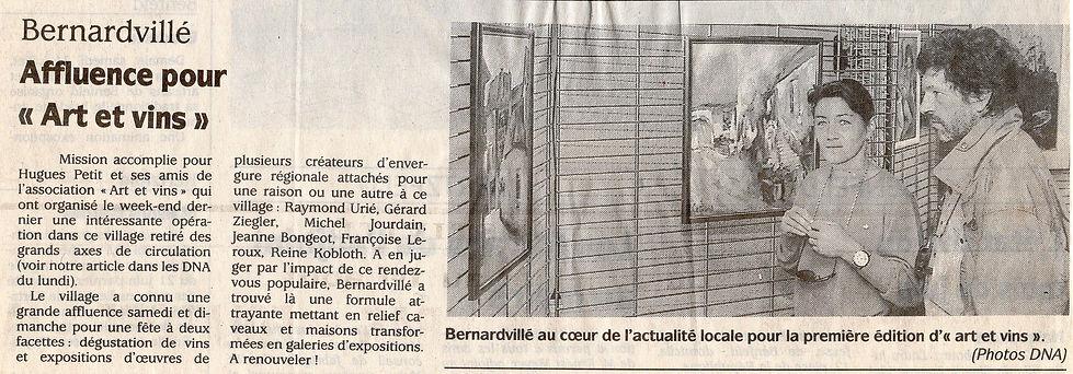 Affluence pour Arts et Vins Bernardvillé