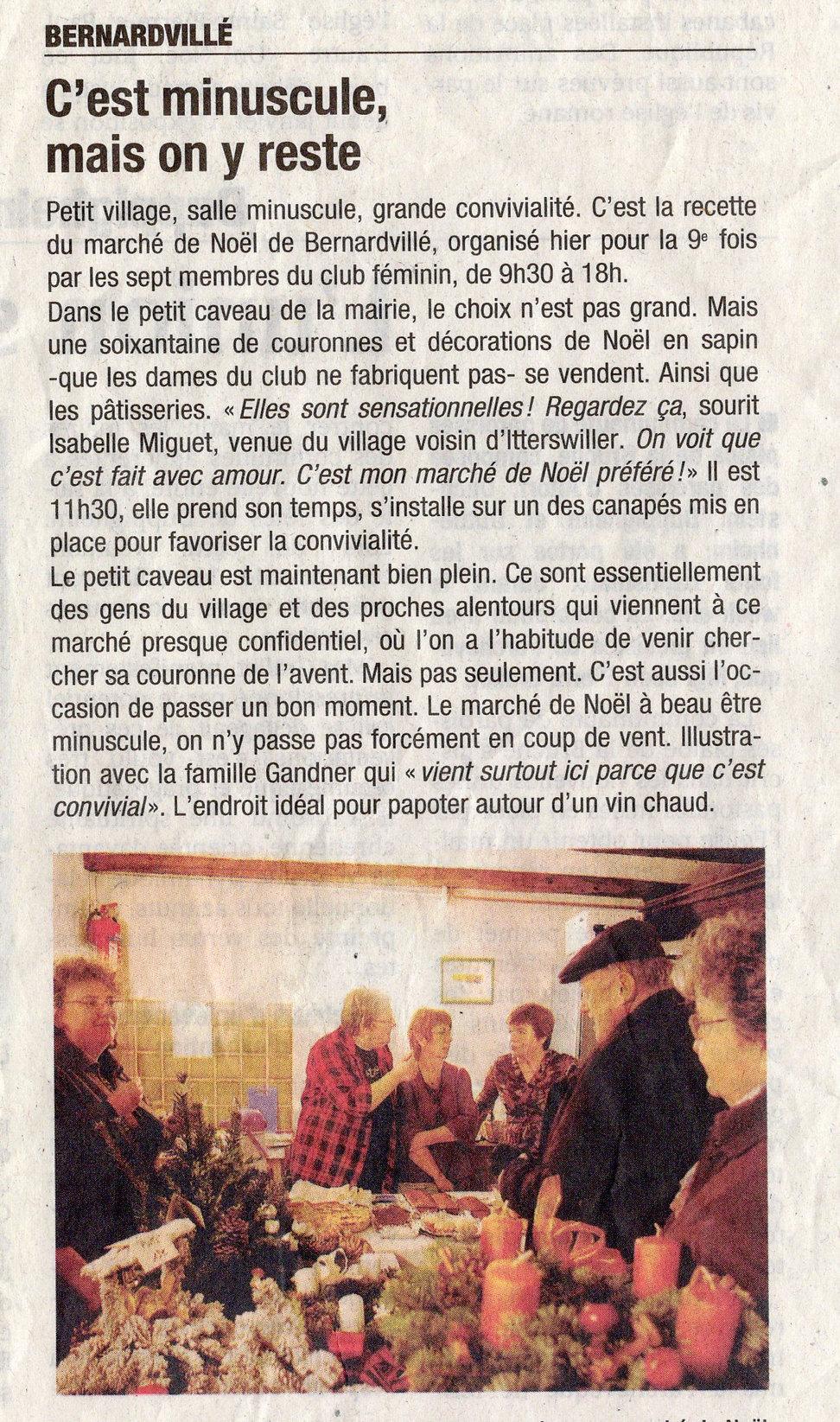 Marché de Noël 2009 Bernardvillé (Copier