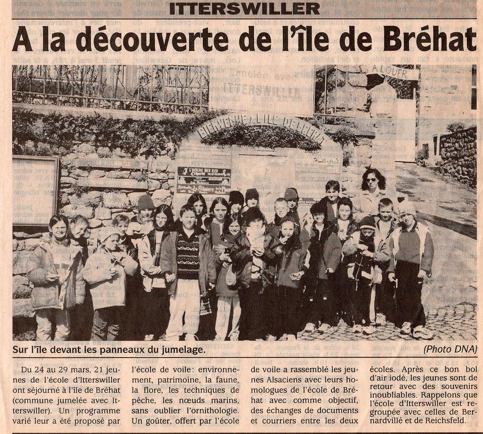 Découverte ile de Bréhat RPI 2001 Bernar