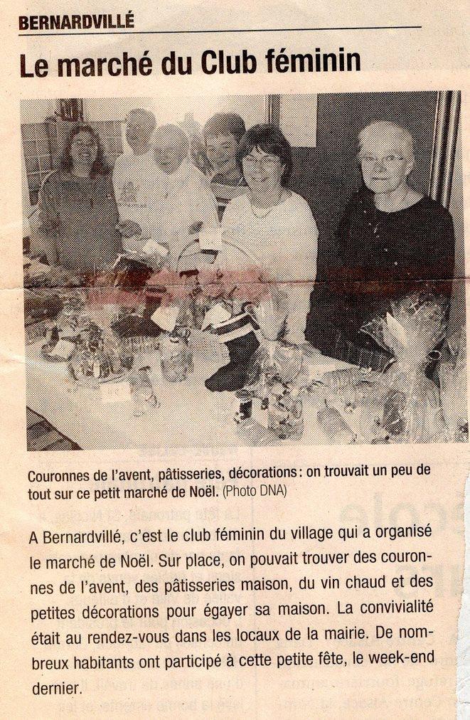 Marché de Noël  club féminin 2216 (Copie