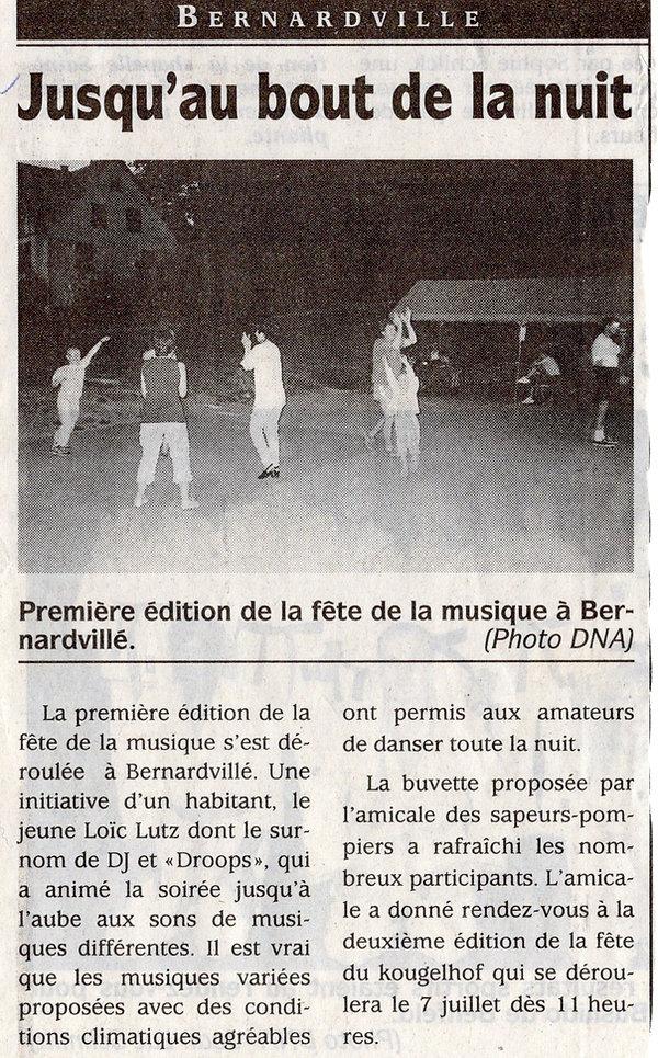 Fête de la musique 2001 Bernardvillé443