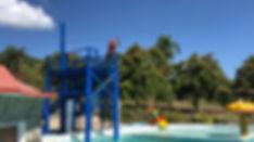 Pool Zip Line