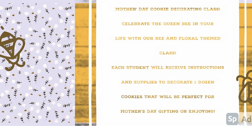 Mother's Day Cookie Decorating Workshop