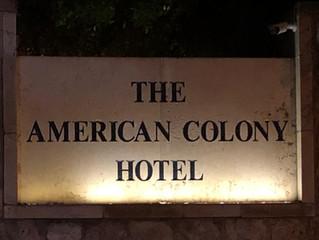 """מפגש חברים נובמבר 2018- ביקור בארכיון מלון """"אמריקן קולוני"""""""