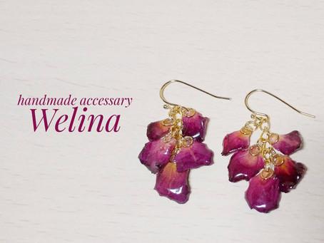 handmade accessary Welina 展示&販売のご案内