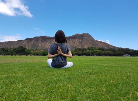 ポーズをとることだけではなく、呼吸と瞑想も大切