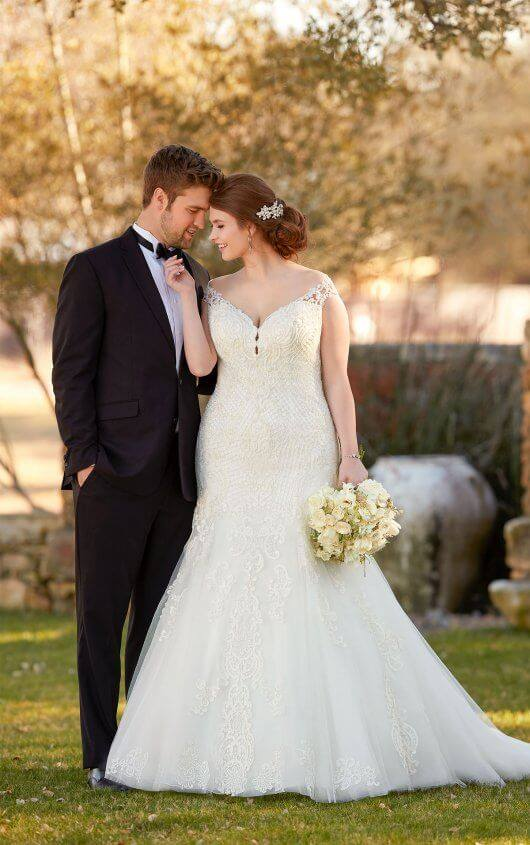 Essense Wedding Dress D2434
