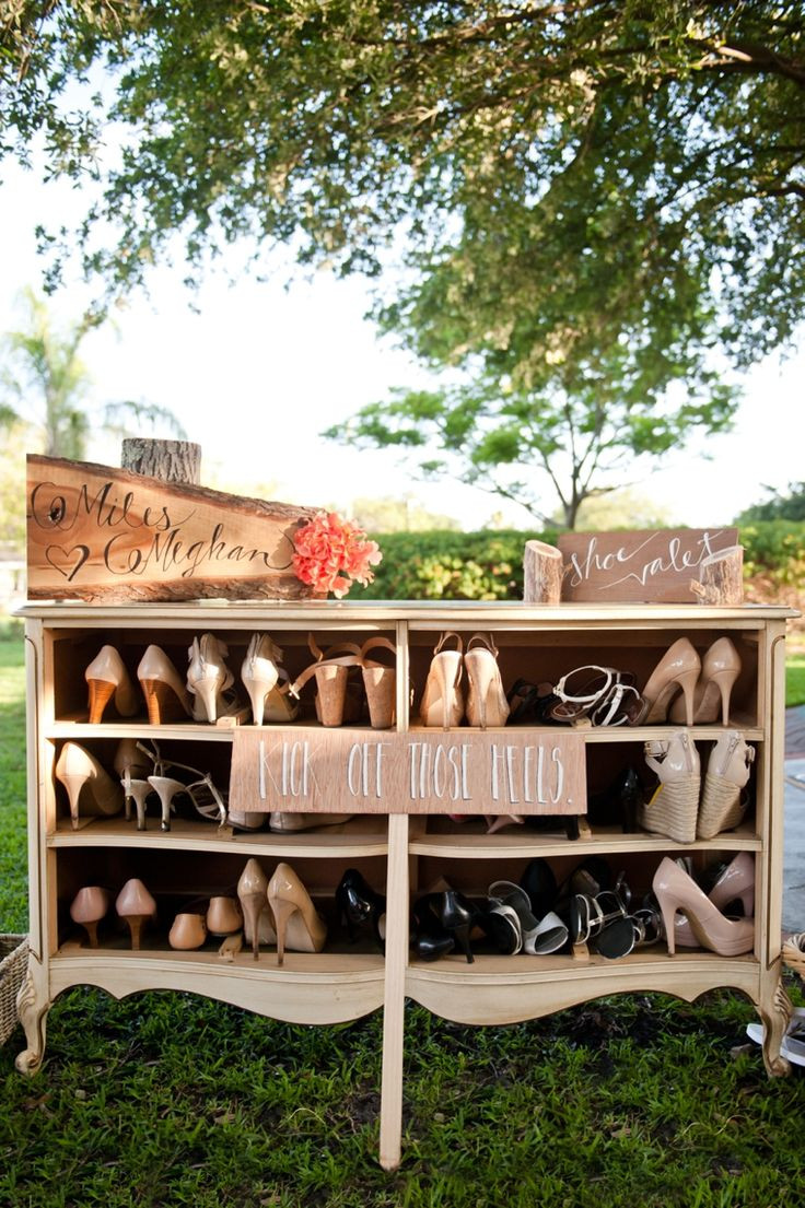 Wedding Shoes Dresser