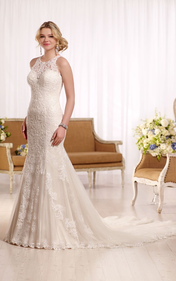 Essense Wedding Dress D2174