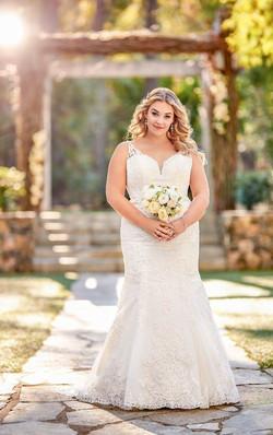 Essense Wedding Dress D2734