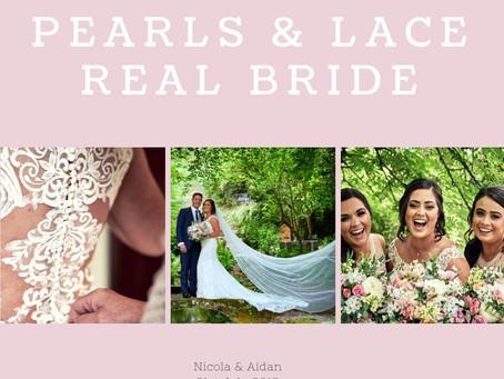 Nicola & Aidan - Pearls & Lace Bride