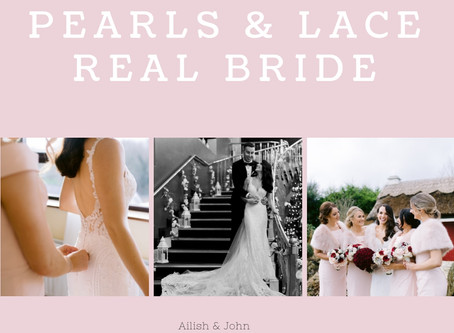 Ailish & John - Pearls & Lace Bride