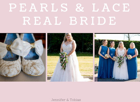 Jennifer & Tobias - Pearls & Lace Bride