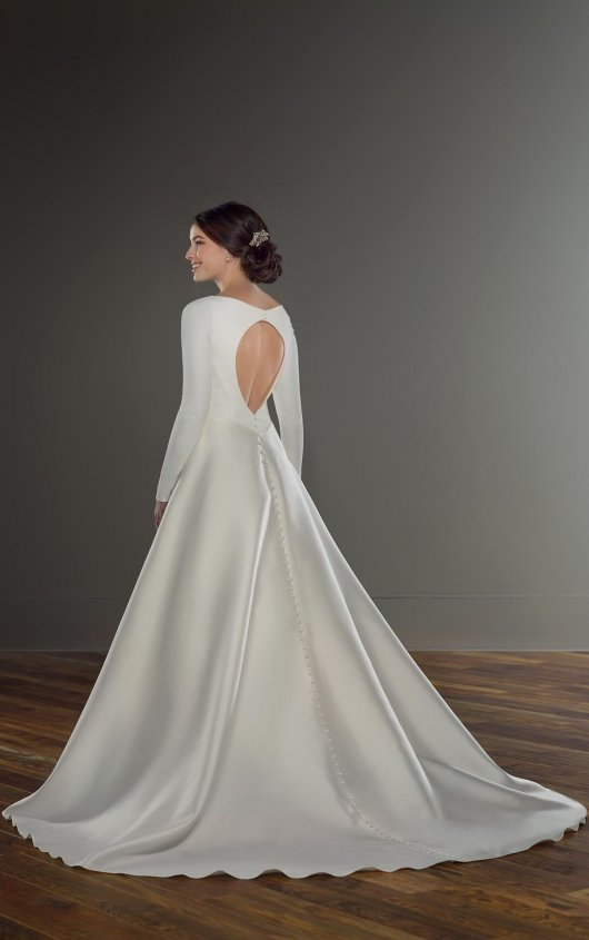 Modest Ball Gown Wedding Dress