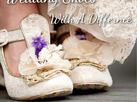 Wedding Shoes With A Difference!