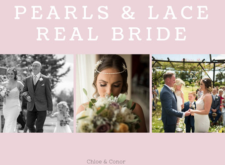 Chloe & Conor - Pearls & Lace Bride