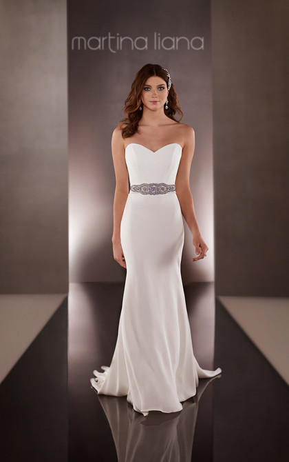 Martina Liana Simple Wedding Dresses 1