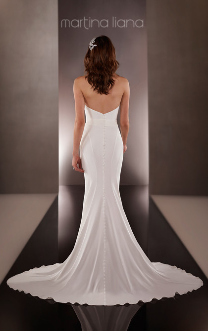 Martina LIana Simple Wedding Dresses 2