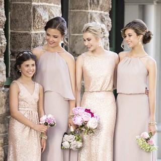 Bridesmaids Dresses with Junior Bridesma