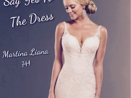 Say Yes To The Dress! Martina Liana 744