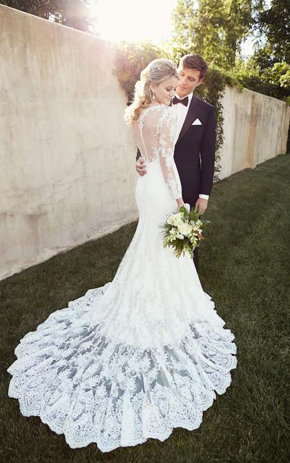 Essense Wedding Dress D1863