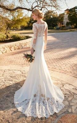 Essense Long Sleeve Wedding Dress